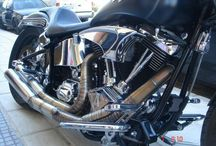 my harley davidson / custom softail harley from Greece