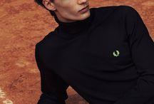 Tennis portraiture
