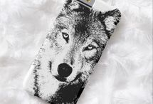 Wolf phone cases