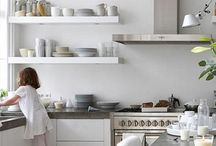 Kitchens i like, Open shelves