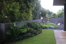 Garden Landscaping / Building and installing, altering or improving, landscaping is a romantic word for what we do