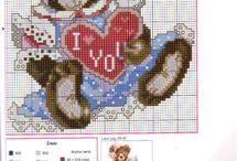embrioidery: Valentine's Day