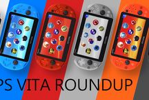 PS Vita models / Different types, colours and limited edition PS Vita hardware