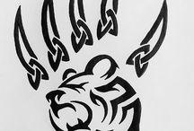 tatouage ours