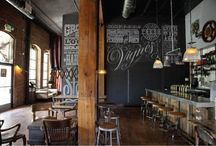 Nice cafe interiors / by Lucia Tranová