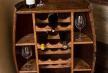 wine storage shelf