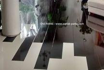 High Gloss Laminat Parke - GNS PARKE / High Gloss Laminat Parke Parlak