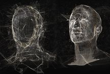 Wireframe faces