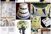 Navy Wedding / Navy wedding theme color