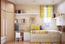 desain kamar anak dengan ukuran kecil