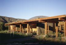 RM 2004 Painted Turtle Camp Lake Hughes, California 1999 - 2004 / RICHARD MEIER