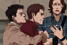 Cas, Dean and Sam FTW