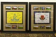 TGFUWFB Favorite Frame Projects! / Some of our favorite framing combinations and projects at The Great Frame Up of Whitefish Bay