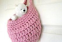 Storage - Crochetrelated / Crochetwork and patterns I've found online.