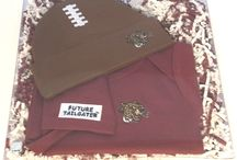 """Lafayette Leopard Baby / Future Tailgater offers awesome Lafayette Leopards baby apparel, accessories & gift sets for baby fans. Our items will make you smile cause they're """"Made to Play""""!"""