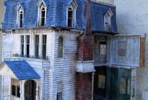 Doll and dollhouse