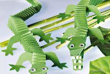 nápady pro děti - krokodýli