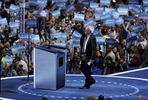 Sanders Uses DNC Speech to Back Clinton, but His Supporters Still Need Some Convincing