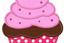 Kup kek desenleri / Masa örtüleri