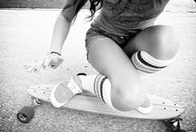 Chicks with boards
