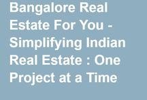 Bangalore - Residential Real Estate / Upcoming residential projects in Bangalore, India