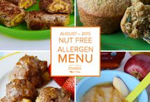 Allergen: Nut Free Freezer Menu August 2015 / by Once A Month Meals
