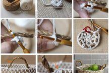 kötés - horgolás / crochet - knitting