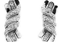 Srebrne kolczyki / Kolczyki wykonane ze srebra.