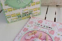 Tarjetas de bebé