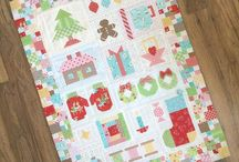 Christmas quilts and stuff