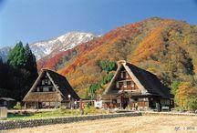 Japon : Villages Japonais / Partez à l'aventure dans les campagnes japonaises, hors des sentiers battus et découvrez les plus beaux villages du Japon.
