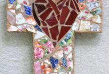 MOSAIC ART- Crosses / by Cyndi Gilstrap McDonnough