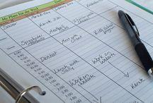 Organization / Ideas for organize home, work, life :)