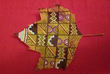 Leaf crafts, levélfestés / levél, ősz, levéfestés