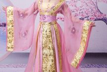 ancent oriental dress