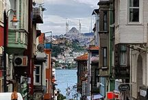 İSTANBUL | TURKEY - Constantinople City - Bosphorus / İstanbul isveryimportantplace in the world.The city is spread over an area of7.500 km2150 km long and 50 km wide.Istanbul became the biggest and the most crowded city ofEurope.  Because, ıts location between Asia and Europe, the city always had a great geopolitical importance.the city population is estimate 12 to15 millions.