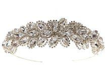 Crystal Tiaras / Beautiful Swarovski crystal tiaras