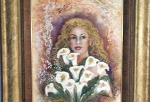 Ruby Rembrandt Art Gallery / Various art works by local Artist's for sale through the Gallery