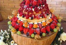 bolo decoração