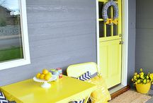 Yellow and Grey color schemes