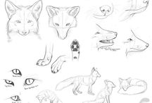 Fox drawing tutorials