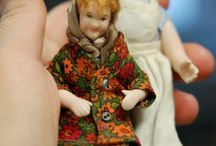 Berryl (ja Salme 1:16) / 1:12 porcelain doll by Taru Astikainen