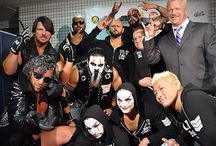 The Bullet Club. / The Bullet Club.
