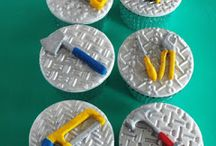 Makin's Clay® used on Cakes & Cupcakes - The No Bake Polymer Clay® / Edible creations made Makin's Clay® tools, or cake toppers made with Makin's Clay®