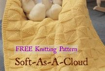 Free Baby Blanket Knitting Patterns / Create the perfect blanket for any themed nursery with a free baby blanket knitting pattern available for immediate download. / by Craft Downloads