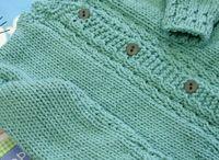 Tricô e crochê  para crianças e bebês