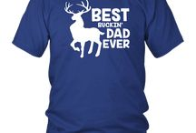 Best Buckin' Dad Ever Shirt for Deer Hunting Fathers