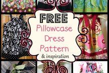 Pillow case dresses & ideas