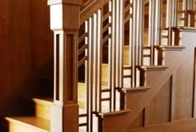 Traditional Wooden Stairs / Love your home and want to enhance it? We'd be happy to make you a wooden staircase inspired by any of these:- cut string stairs, veluted newels, wood & white, oak staircase, timber stairs.........  www.merrinjoinery.com