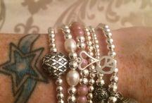 Sterling Silver Handmade Jewellery / Beautiful Sterling Silver handmade bracelets and rings x